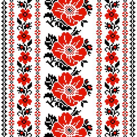 ukrainian pattern vector ukrainian styles embroidery patterns vector set 03