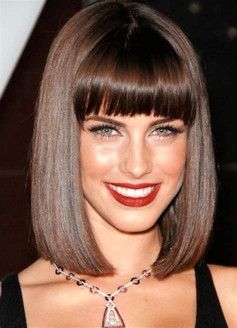 bob haircuts vogue 15 ultra classic bob hairstyles with diverse bangs