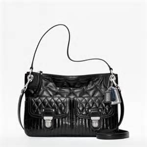 do you really want coach poppy quilted black leather