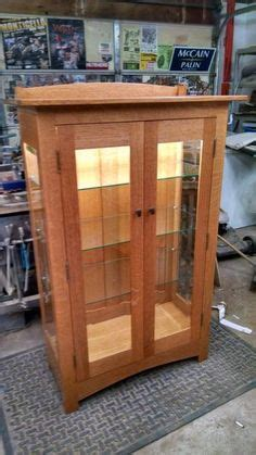 mission style curio 1000 images about tv lift stand 2016 on pinterest curio