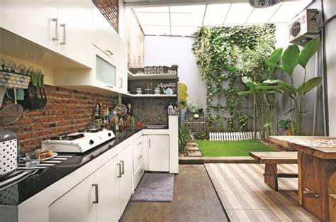 Design Dapur Minimalis Menghadap Taman | 10 desain dapur terbuka minimalis ala masa kini 2018
