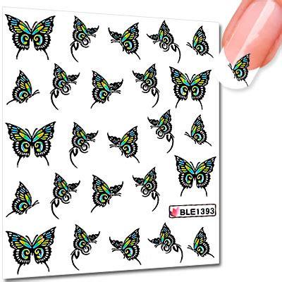 Nail Sticker Zum Drucken by Schmetterling Nailart Sticker Schmetterlingmotive Ble1393