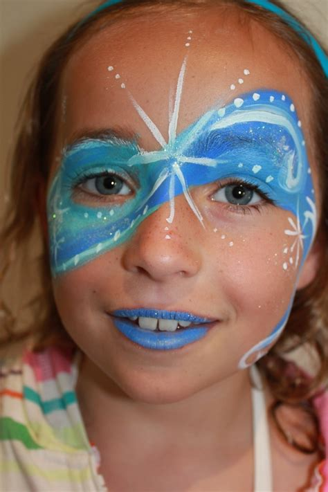 painting ideas christmas face painting snowflakes www pixshark com