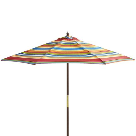 stripe market umbrella 9 outdoor ideas