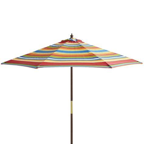 Stripe Market Umbrella   9'   Outdoor Ideas   Pinterest