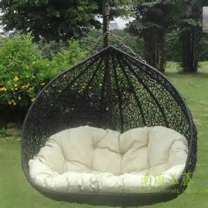 Outdoor furniture outdoor adult swing chair casual double swing