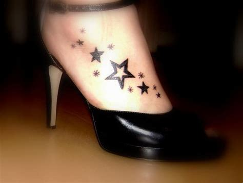 star foot tattoos designs foot tattoos design foot tattoos design pictures
