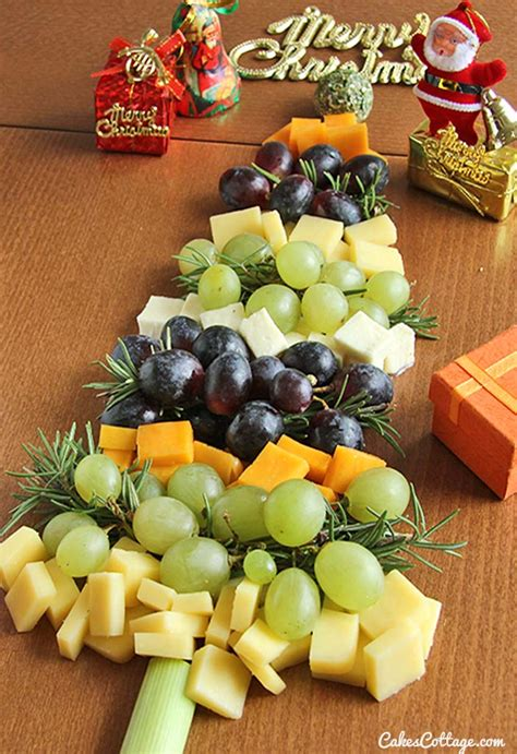 christmas appetizer tree board tree cheese board cakescottage