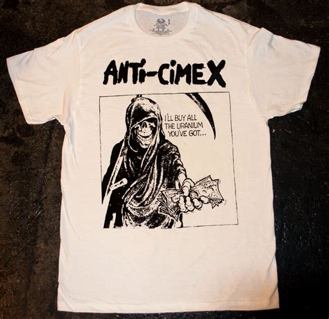 Anti You T Shirt anti cimex i ll buy all the uranium you ve got t shirt 183 side two 183 store powered by
