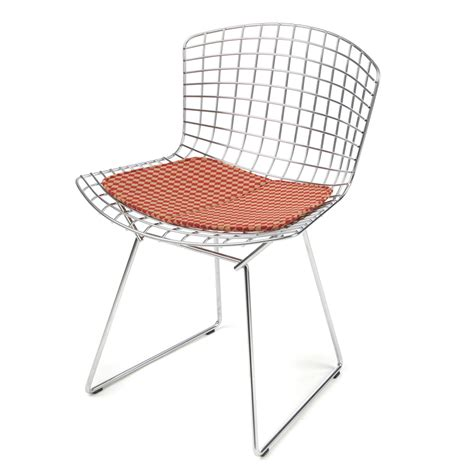 Knoll Bertoia Side Chair Knoll Bertoia Side Chair With Seat Pad