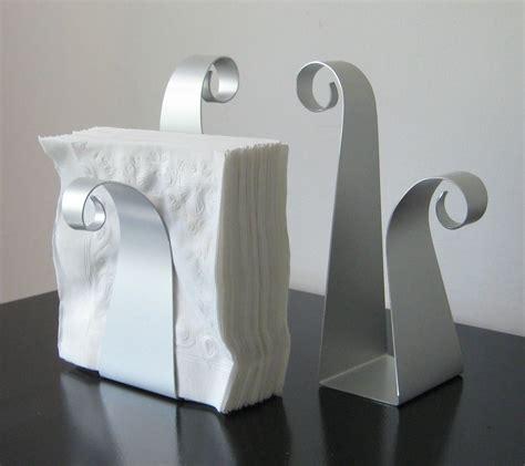 scroll napkin holder