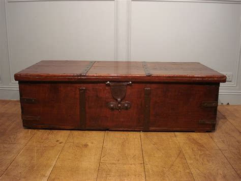 old trunk coffee wooden trunks and chests antique oversize antique wood