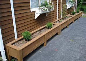 bamboo planter boxes how to make wooden planter boxes