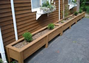 Patio Planter Box Plans by Diy Planter Box Plans How To Make Wooden Planter Boxes