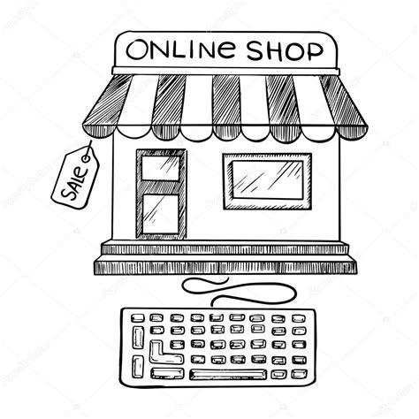 convertir imagenes a blanco y negro online dibujo de icono compras y tienda online archivo im 225 genes
