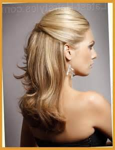 partial updos for medium length hair curly hairstyles for prom for medium length hair half