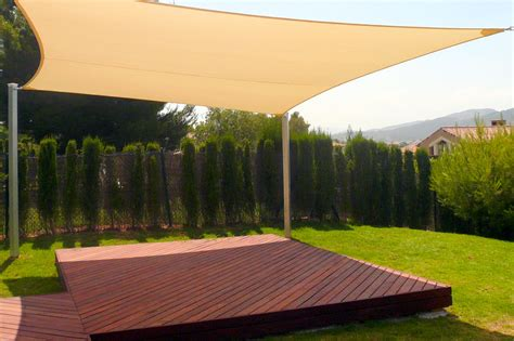 backyard sail shade shading your patio sun sails versatile patio sun