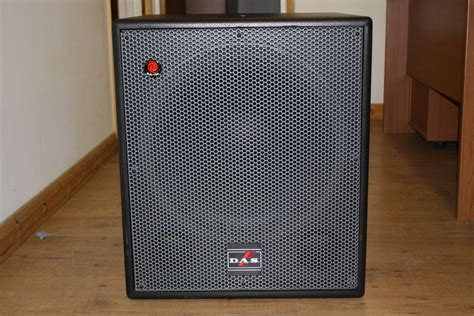 Speaker Subwoofer A D S secondhand sound and lighting equipment sound equipment 2 x d a s sub 18a speakers used