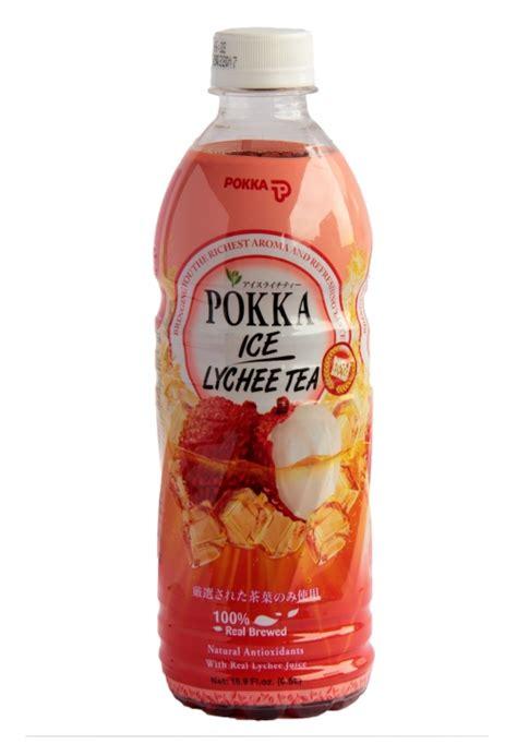 lychee bottle pokka ice lychee tea 500ml bottled drink buy online
