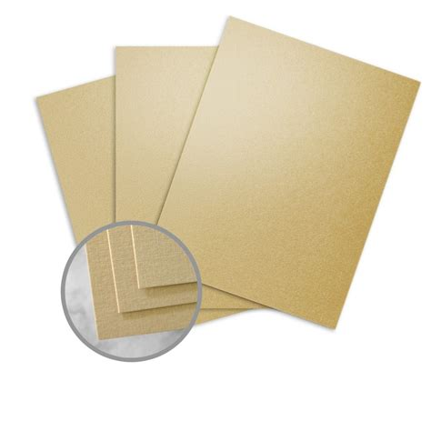 Cardstock Cards And Envelopes Template by Gold Pearl Card Stock 8 1 2 X 11 In 84 Lb Cover Linen