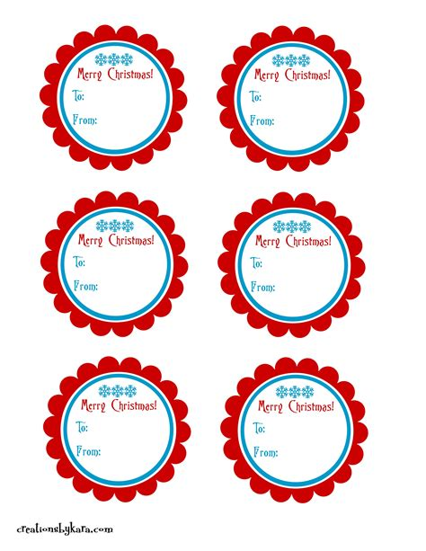 printable christmas ornament tags christmas gift tags2 creations by kara