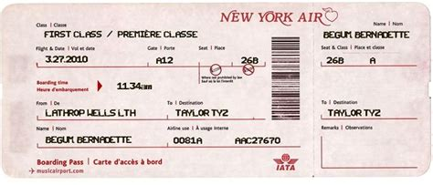 sample airline tickets purchase airline tickets