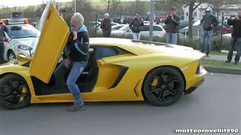 yellow lamborghini aventador yellow lamborghini aventador lp 700 4 revs acceleration