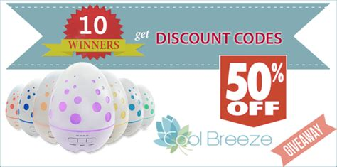 Appliance Giveaway 2016 - march giveaway special offer cool breeze aroma diffusers