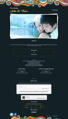 desain undangan pernikahan tema bola calendar desain undangan online unik dari datangya com
