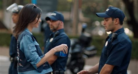 pepsi commercial larry actress kendall jenner s controversial pepsi commercial gets