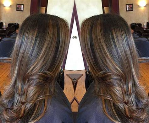 highlights for long dark fine hair 60 great brown hair with blonde highlights ideas