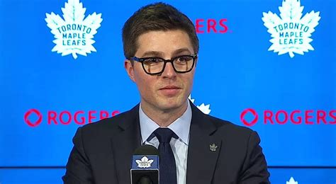 live maple leafs announce promotion of kyle dubas