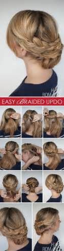 braids updo for hairstep by step easy hairstyles for long hair step by step