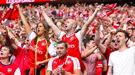 arsenal fans study finds arsenal chelsea and newcastle fans would