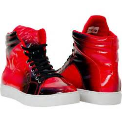 spike patent leather high top sneakers paolo shoes