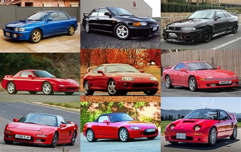 japanese sports cars of 1990s quiz by alvir28