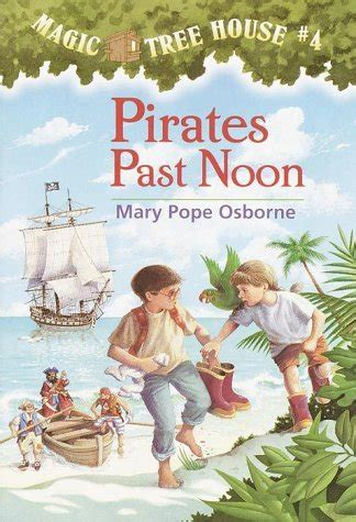 newest magic tree house book pirates past noon author mary pope osborne book cover