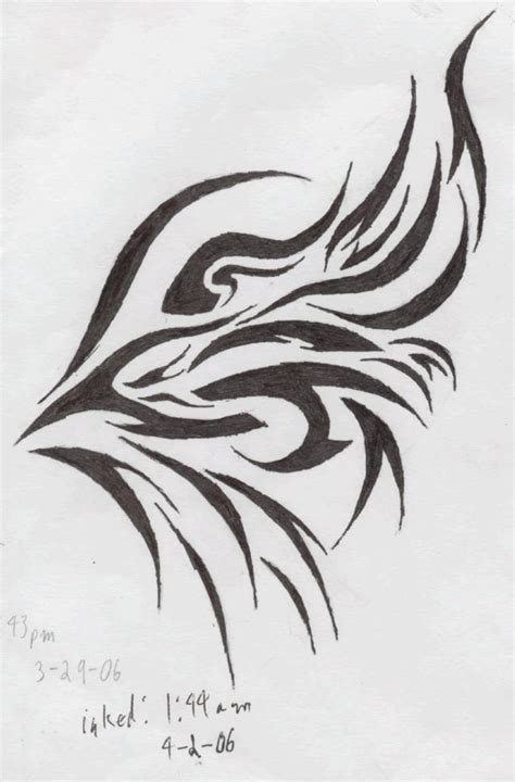 tattoo tribal wings designs phoenix wing by oathkeeperalexiel on deviantart