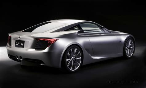 lexus concept coupe concept to reality part one 2005 lexus lf a coupe in