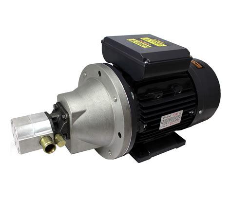 hi lo motors hydraulic 3 7kw 240v 1 ph motor pumpset with 8gpm hi low