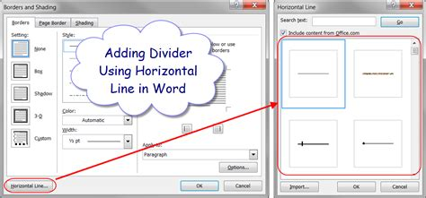 page layout horizontal word how to add dividers in microsoft word quickly 187 webnots