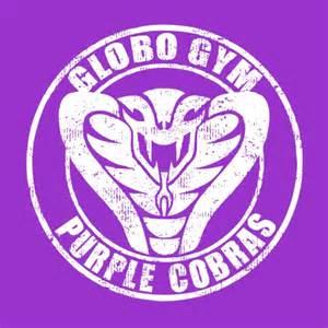 Globo gym purple cobras dodgeball t shirt sports t shirts blackout