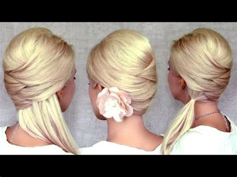 cute everyday hairstyles youtube cute christmas new year s eve hairstyles for medium long