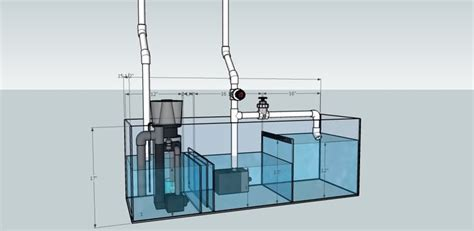 Saltwater Aquarium Plumbing Design by 1000 Images About Aquarium On Reef Aquarium