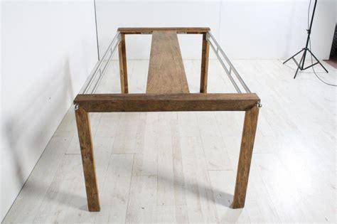 tavolo legno metallo tavolo legno metallo e vetro bardiani luigi