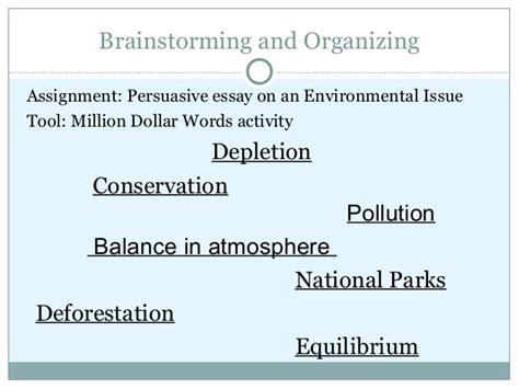 Persuasive Essay On Environmental Issues by Efl Writing Skills Dr M Hnamul Hoque