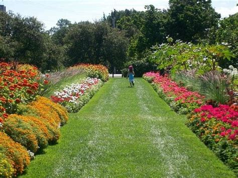Garden Ottawa Flowers Ornamental Gardens Experimental Farm Picture Of