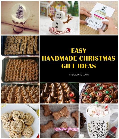 40 easy handmade christmas gift ideas for friends family