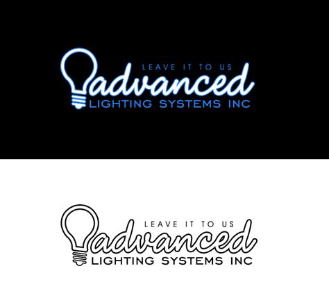 new logo design needed for company advanced lighting