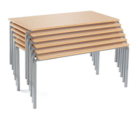 Table Top Easels Rectangle Stacking Tables Classroom Furniture Desk